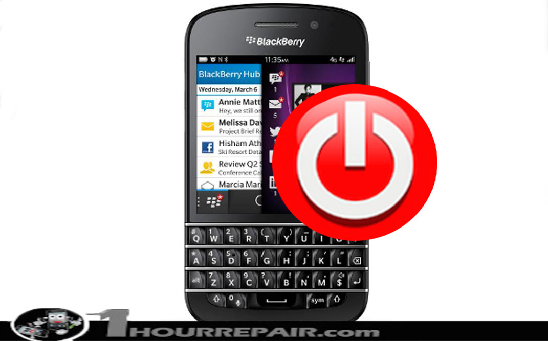 BlackBerry Q10 Power Button Replacement Service
