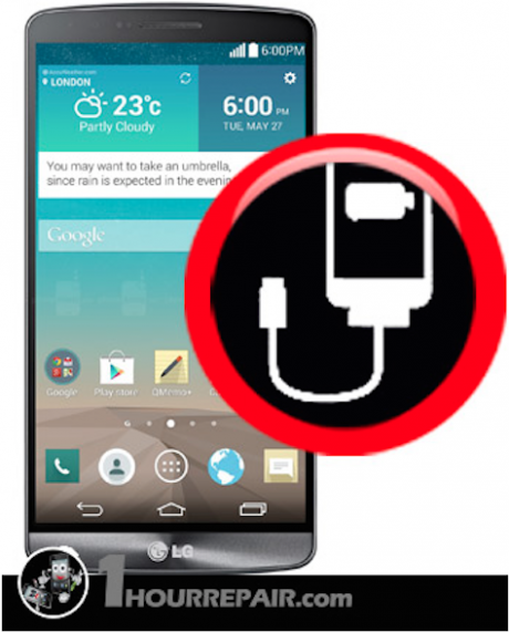 LG G3 Damaged Charging port