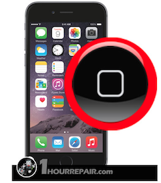 iphone stuck home button