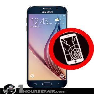 Samsung s6 Cracked Screen