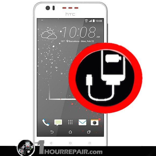 HTC DESIRE Charger port