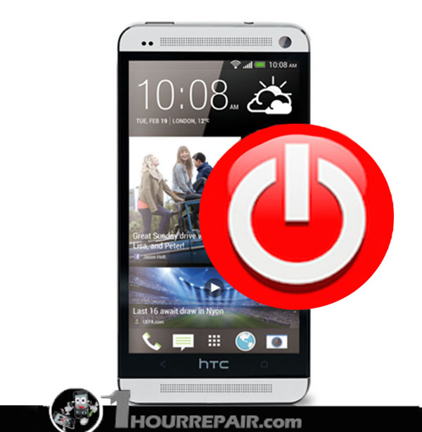 HTC M7 Power Button Replacement Service – 1hourrepair com: phone