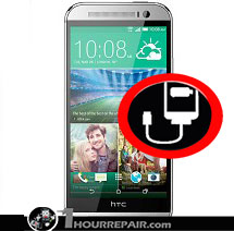 HTC m8 Charger Port
