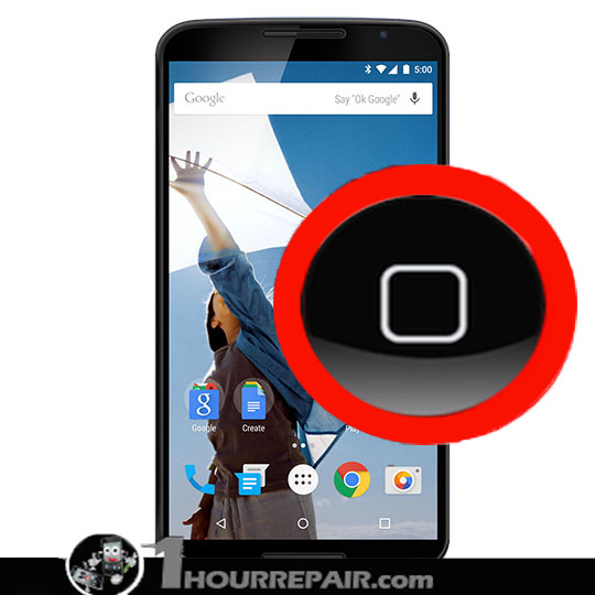 Moto nexus 6 Home Button