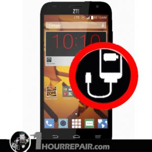 ZTE Speed charger port