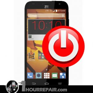 ZTE Speed power button