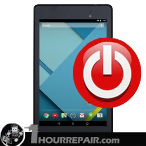 nexus 7 power button