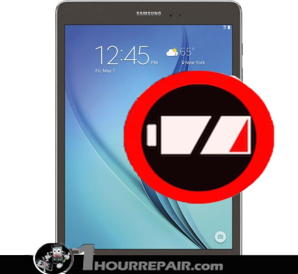 Samsung Galaxy tab A 9%22 battery