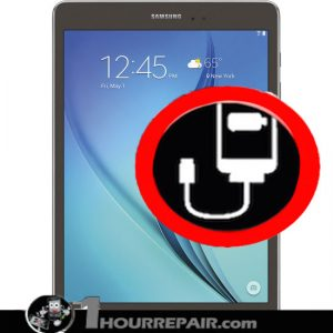 Samsung Galaxy tab A 9%22 charger port