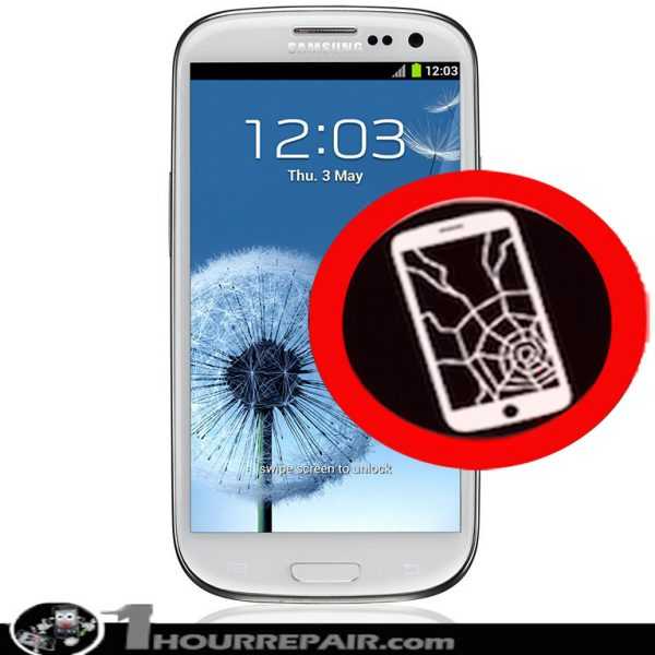 cracked screen samsung galaxy s3